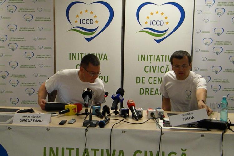 Mihai Răzvan Ungureanu, la Cluj: Sâmbătă voi fi în Piață lângă Traian Băsescu