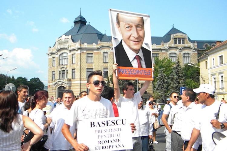BĂSESCU LA CLUJ - România trezește-te! UE a reacționat deja, noi cât mai dormim?