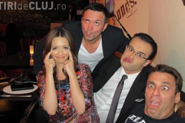 Gâdea, Buzdugan, Andreea Berecleanu şi Badea se strâmbă într-o fotografie de senzaţie!