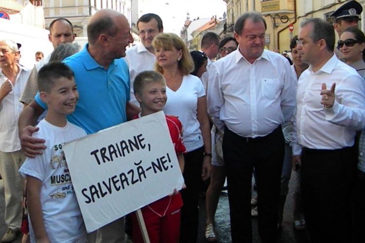 Traian Băsescu, atacat energetic la Cluj? Președintele și staff -ul lui acuză dureri de cap