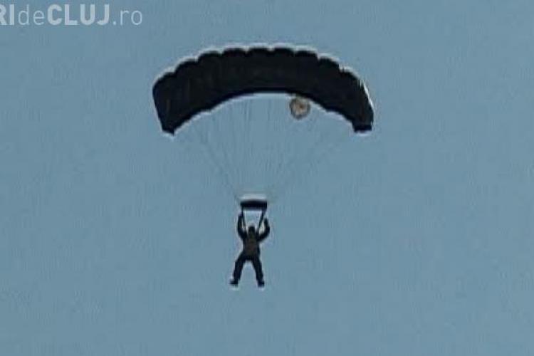 Incident cu un parașutist la Aerodromul Dezmir