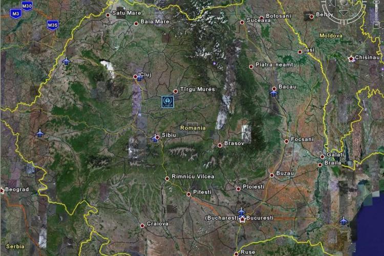Romȃnia turistică pe Google Maps