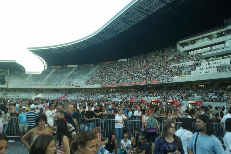 Roxette a adus pe Cluj Arena 20.000 de fani, în timp ce Scorpions 40.000