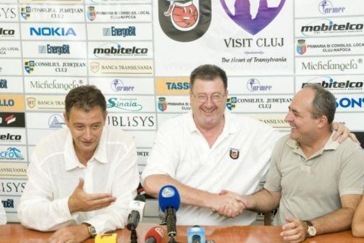 Valetin Nica, președintele U Mobitelco BT Cluj: Nu plec de la echipă