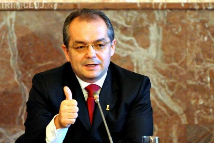 """Emil Boc spune că ceea ce a făcut Iliescu """"m-a surprins urât"""" VIDEO"""