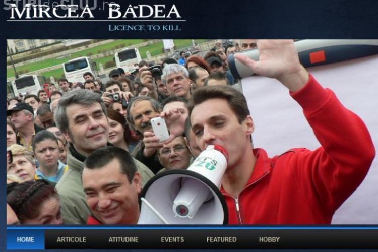 Blogul lui Mircea Badea a fost spart: Ce au scris hackerii