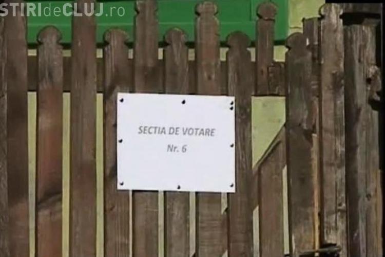 REFERENDUM CLUJ 2012: Secții de votare amenajate la țărani în casă sau la magazinul sătesc