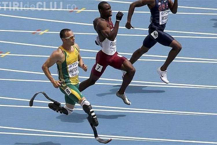 Oscar Pistorius este EROUL întregii planete! A evoluat la Jocurile Olimpice, deşi are picioarele AMPUTATE!