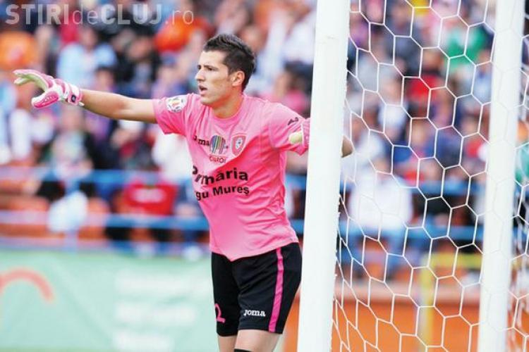 Universitatea Cluj a transferat un portar dorit de Rapid