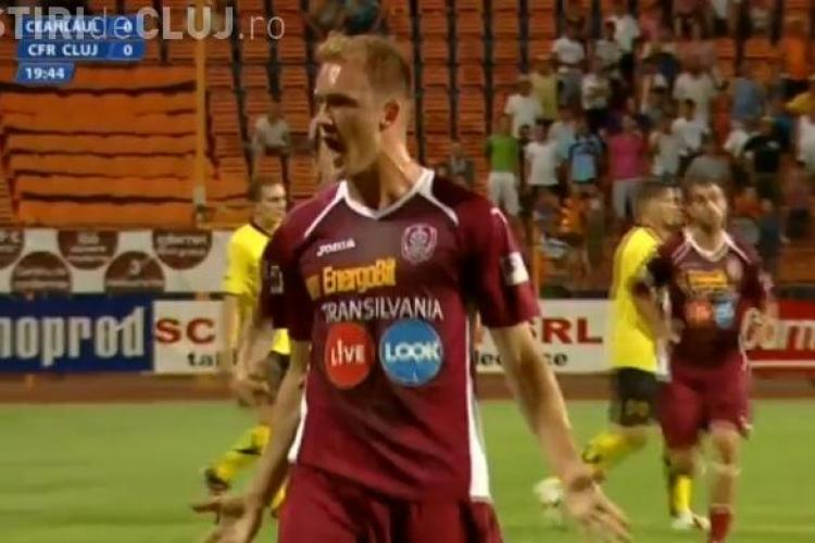 Ceahlăul - CFR Cluj 2-2 VEZI GOLURILE - VIDEO