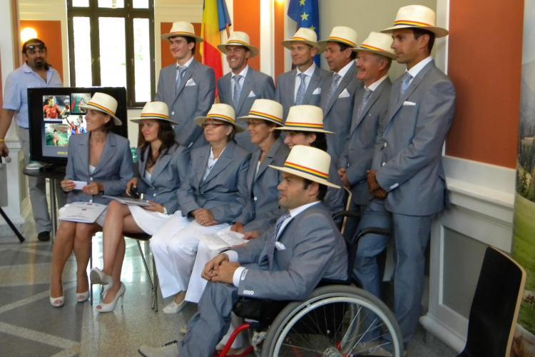Sportivii clujeni, pregătiţi de Jocurile Paralimpice 2012: Vrem să aducem medalii României FOTO