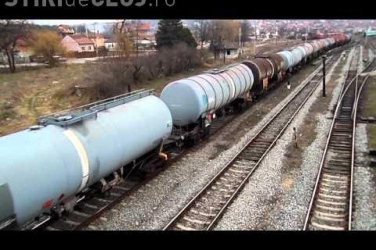 50 de tone de combustibil, furate din Gara Dej