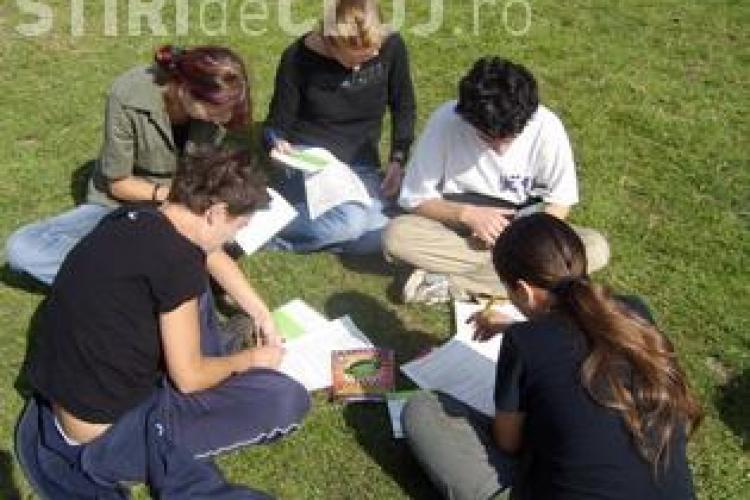 Tabăra Internaţională de Calculatoare şi Comunicare pentru tineri nevăzători şi slab văzători, la Cluj