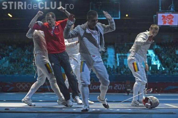 JOCURILE OLIMPICE: Echipa masculină de sabie s-a calificat ăn finală. Luptă pentru aur de la 20.45