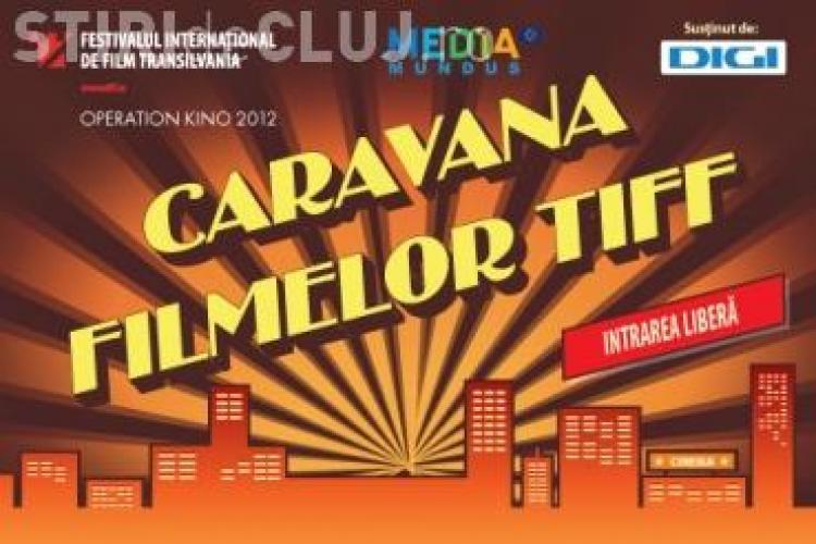 Caravana filmelor TIFF, în Piaţa Unirii din Cluj-Napoca
