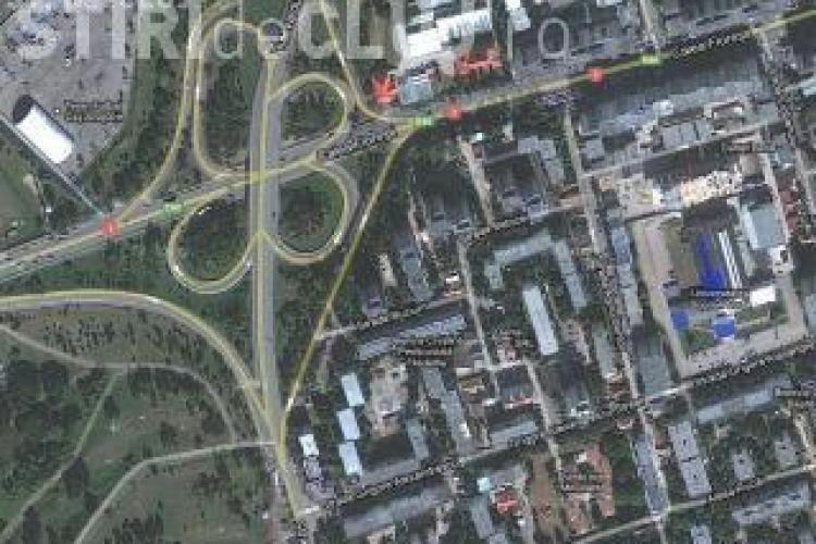 Construcția blocului de 25 de etaje de pe Calea Florești, anchetată de Consiliul Județean Cluj