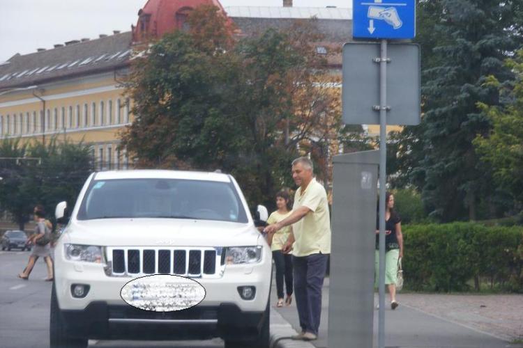 Șeful IPJ Cluj, chestorul Ioan Păcurar, și-a luat Jeep nou din banii de botez? FOTO