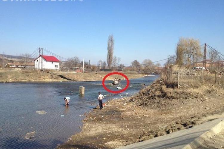Şulea, primarul comunei Floreşti: Situaţia gunoaielor aruncate în Someş, în comuna Floreşti, trebuie rezolvată de instituţiile abilitate