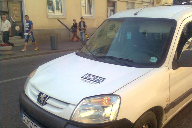 Accident pe strada Napoca! O bătrână a fost lovită în plin VIDEO