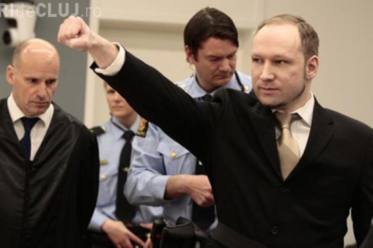 Criminalul din Norvegia, Breivik, condamnat la 21 de ani de închisoare