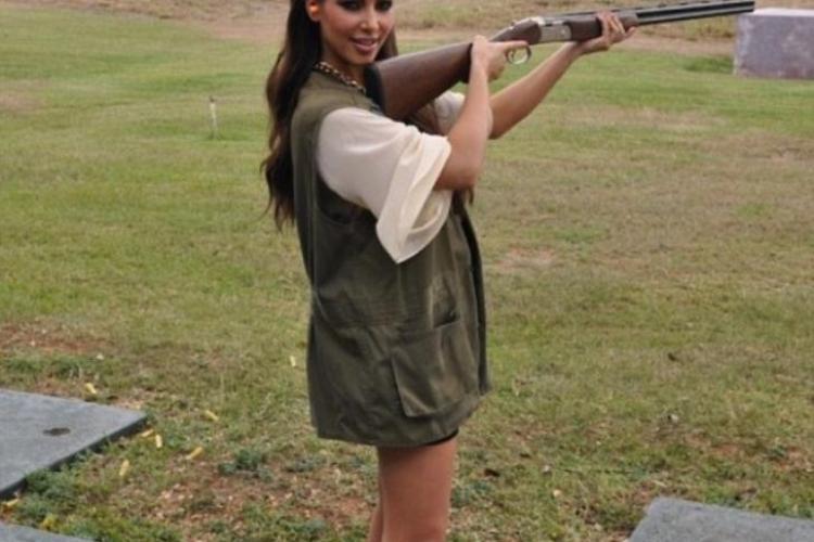 """Kim Kardashian, cu arma în mână: """"Nu am avut idee cât de înspăimântător a fost"""""""