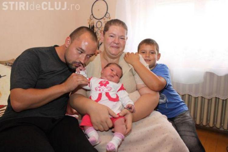 Bebeluşul URIAŞ născut în Debrecen FOTO