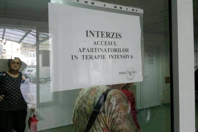Un bărbat internat la Instititul Inimii din Cluj Napoca a contaminat două infirmiere cu un germene periculos