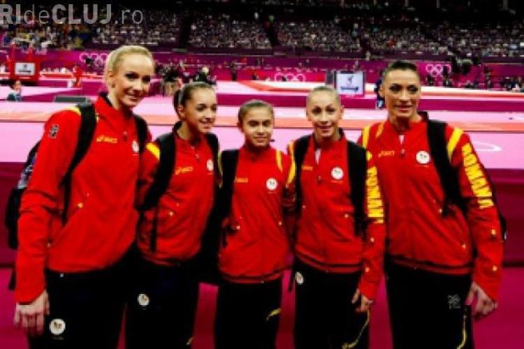 Lotul olimpic de gimnastică a revenit în România