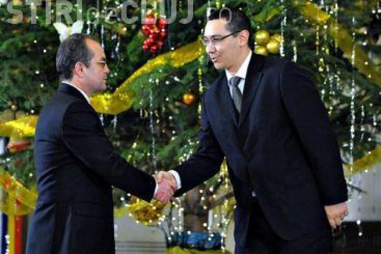 Ponta: Boc e un politician mic, tupeist. E prea mare nesimtirea