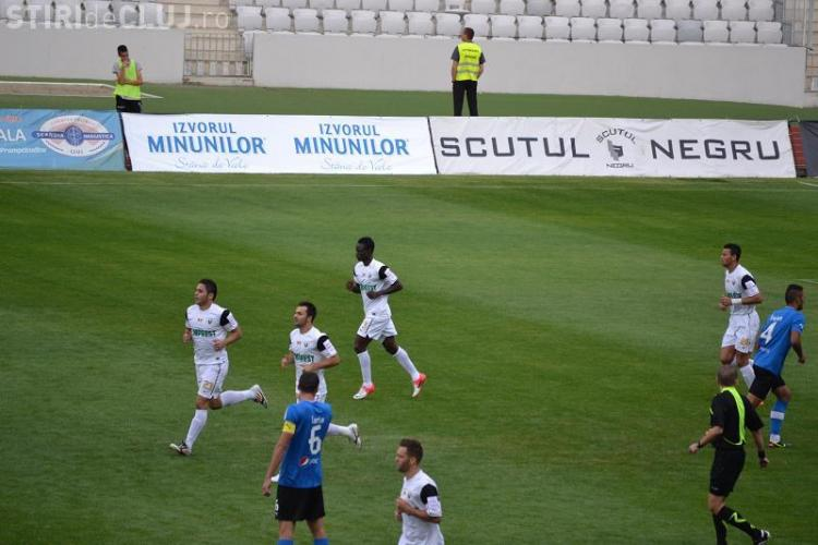 """Rezumatul VIDEO al meciului """"U"""" Cluj - Viitorul Constanţa: SCOR 2-1"""