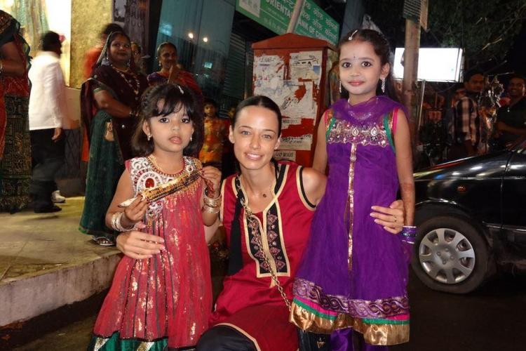 Andreea Raicu este în India: E un loc fascinant