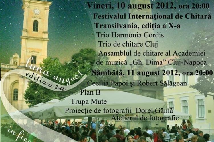 """""""Seri de vară clujene"""" cu muzică şi voie bună în acest week-end la Cluj"""