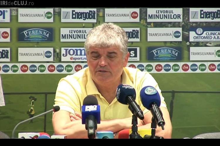 "Antrenorul CFR Cluj Ioan Andone: ""Nu ne gândim la Basel, ne gândim la Galaţi"""