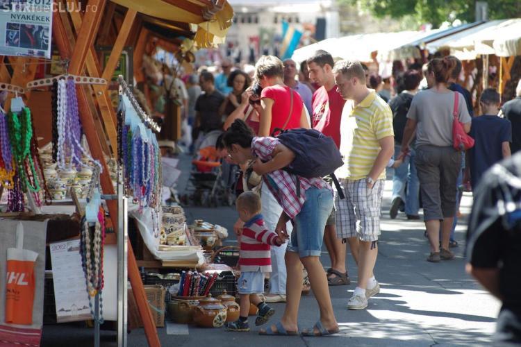 Strada Kogălniceanu a devenit strada festivalurilor