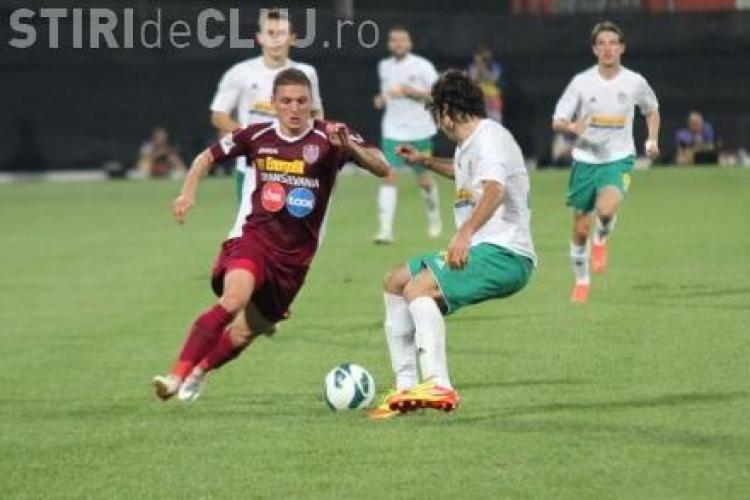 Rapid - CFR Cluj 3-2. Rezumat VIDEO