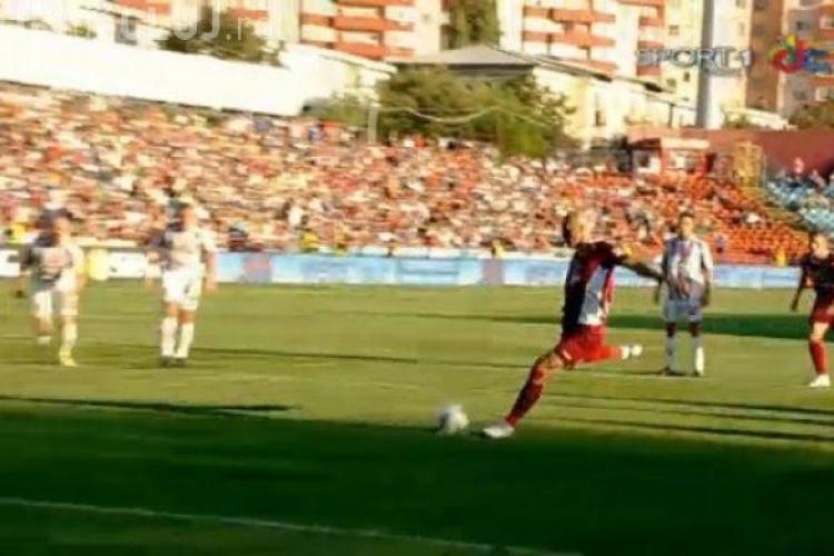 CFR Cluj a jucat un meci remarcabil cu Oţelul Galaţi: SCOR 2-1 Rezumat VIDEO