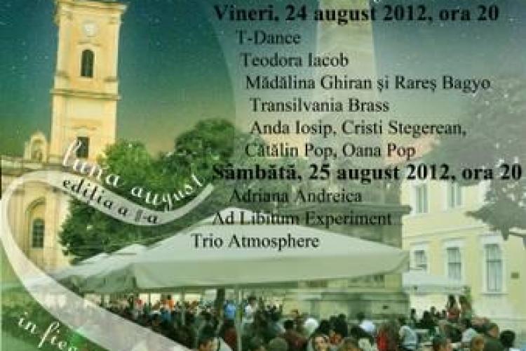 """Ultimul spectacol din cadrul """"Serilor de vară clujene"""", în Piața Muzeului"""
