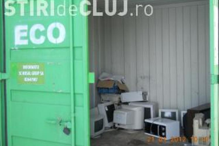 Acţiune de colectare a deşeurilor de echipamente electrice şi electronice, sâmbătă, la Cluj