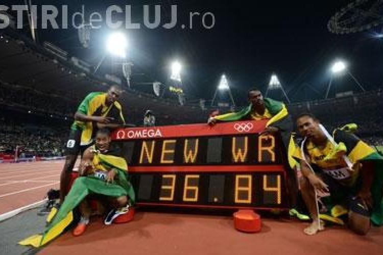 JO 2012: Titlu olimpic şi nou record mondial pentru Jamaica în proba masculină de 4x100 de metri