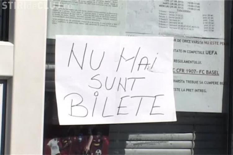 CFR Cluj - FC Basel - Nu mai sunt BILETE VIDEO
