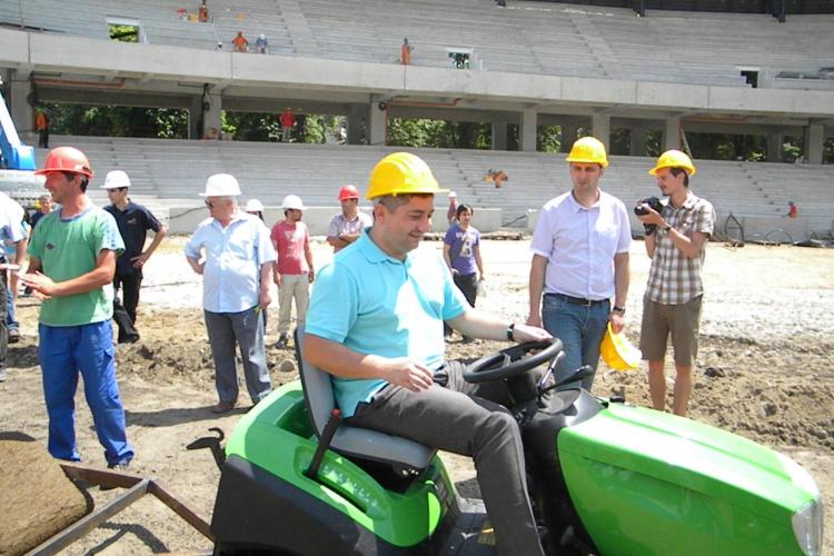 Mureșan: Noi nu avem ce să căutăm pe Cluj Arena. Este branduit pentru U Cluj VIDEO