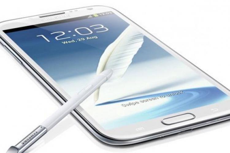 Samsung a lansat Samsung Galaxy Note II: Mai mare, mai subţire, mai uşor VIDEO