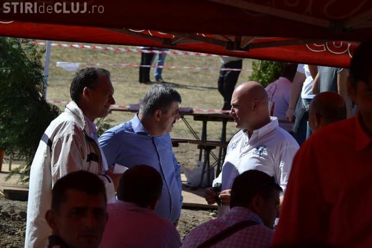 Uioreanu s-a întreținut cu Paszkany la concursul de călărie: Am discutat și despre Cluj Arena