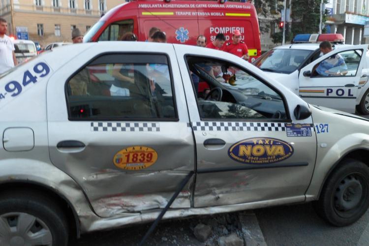 Accident în fața Casei de Cultură a Studenților. Victima: o femeie FOTO