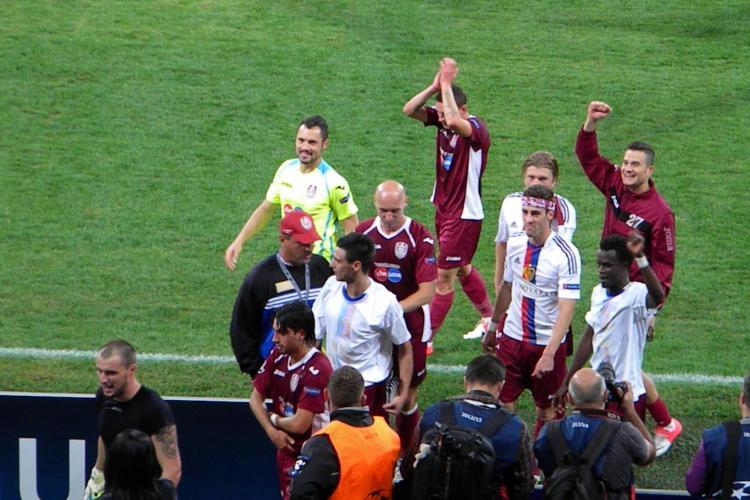 CFR Cluj - Basel 1-0 REZUMAT VIDEO