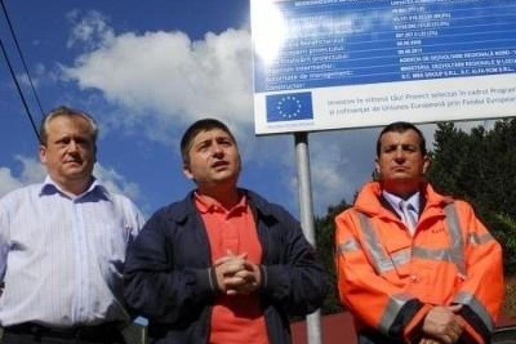 """Un alt """"jaf"""" marca Alin Tișe! Drumul Răchitele - Ic Ponor, finanțat din fonduri europene, are o întârziere de 217 zile"""