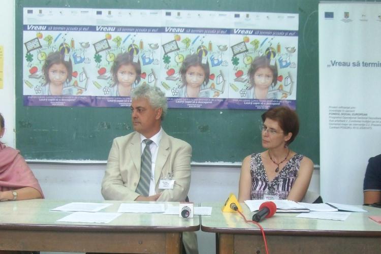 FRCCF Cluj: 17,5% din copiii din România termină cel mult opt clase