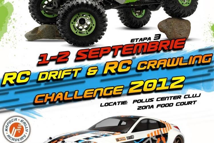 Iubitorii de adrenalină, aşteptaţi la Campionatul National Privat de RC Drift & RC Crawling, la Polus Center