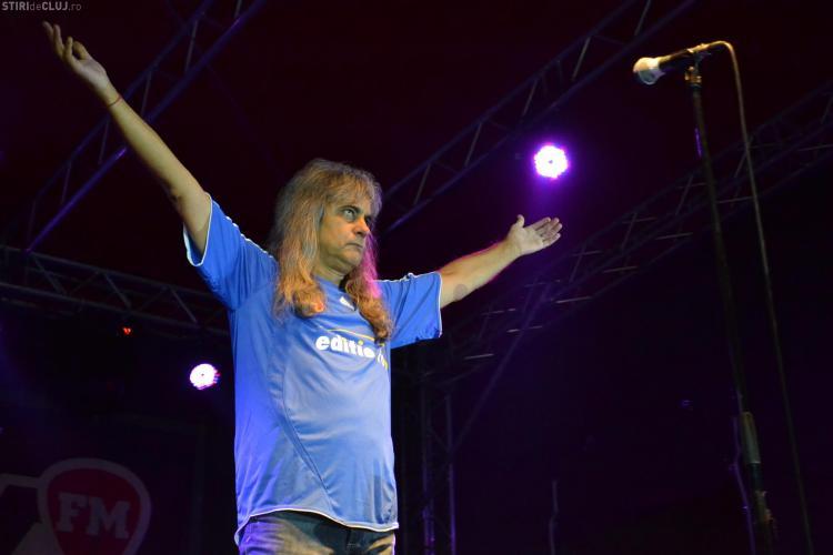 Cristi Minculescu și-a luat ADIO de fani la Cluj. VEZI ce le-a spus VIDEO