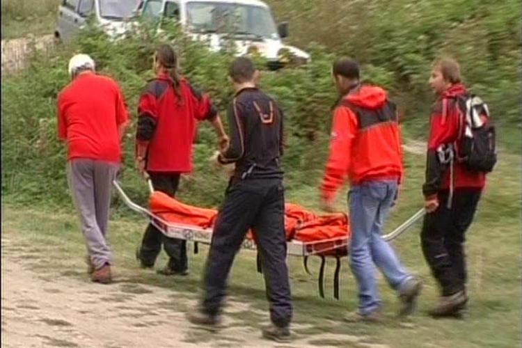 Accident în Cheile Turzii! Un turist a fost lovit în cap de un bolovan în zona Pripoane